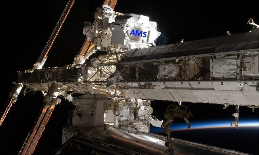 AMS-Experiment auf der Internationalen Raumstation ISS