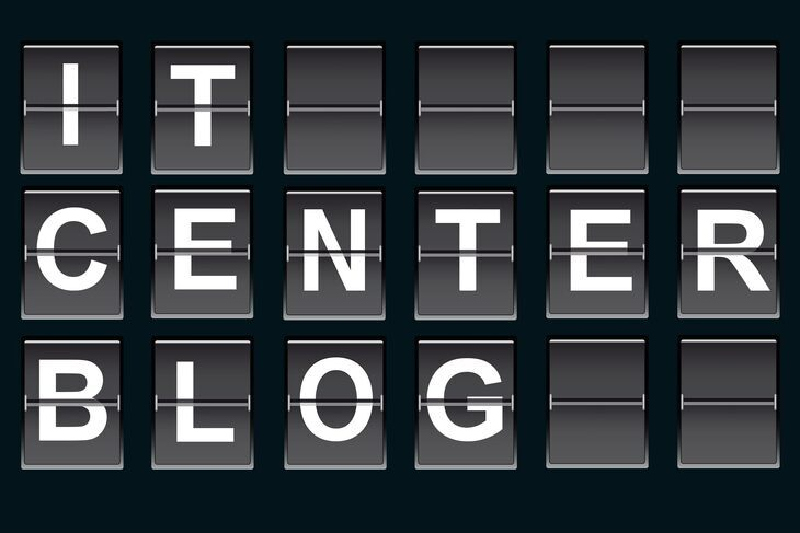 """IT Center Blog"""