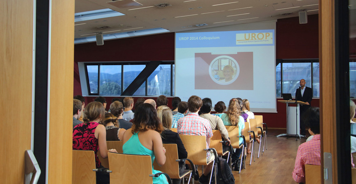 Presentation of the UROP projects